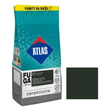 Fuga ceramiczna 037 grafitowy 5 kg ATLAS