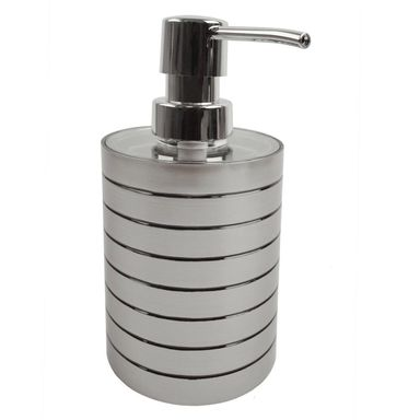 Dozownik mydła FALCO kolor srebrny/czarny SEPIO