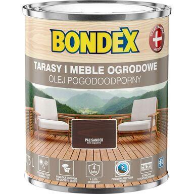 Olej do drewna POGODOODPORNY 0.75 l Palisander BONDEX