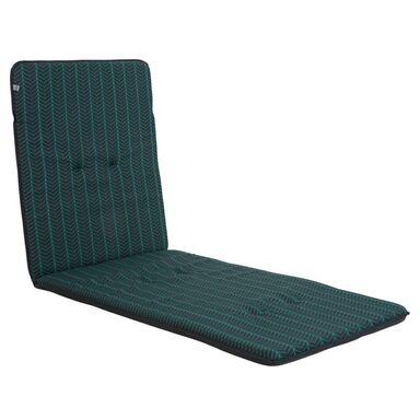 Poduszka na leżak 60 x 185 x 4 cm MONA antracytowa PATIO