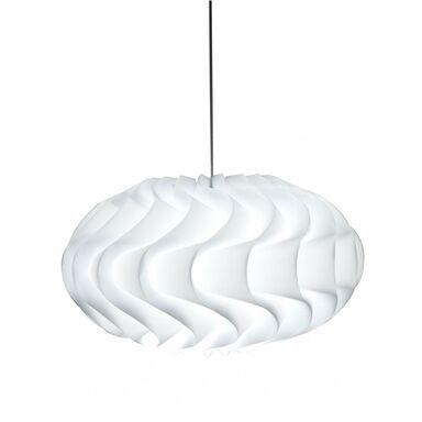 Lampa wisząca ERIS biała E27 SOLEJ