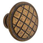 Gałka meblowa CD7166 szer. 3 cm stare złoto