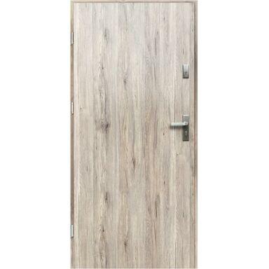 Drzwi wejściowe ARTEMIDA Popielate 80 Lewe OK DOORS TRENDLINE
