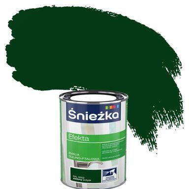 Emalia EFEKTA 0,9 l Zielony ŚNIEŻKA