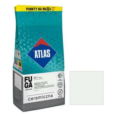 Fuga ceramiczna 001 biały 5 kg ATLAS