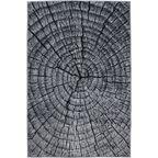 Dywan Mirage szary imitacja drzewa 133 x 190 cm
