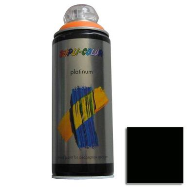 Spray PLATINUM Czarny 0,4 l  DUPLI- COLOR