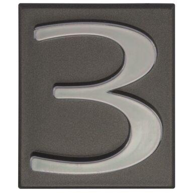 Cyfra 3 WYS. 47 MM