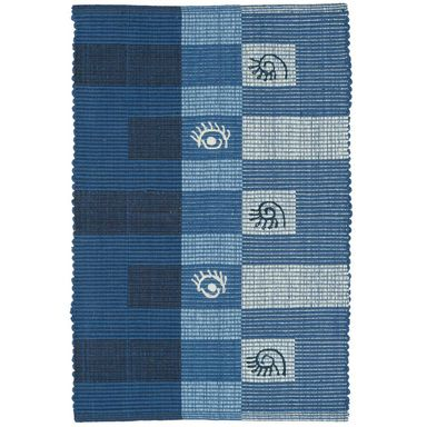 Dywan PERLITA niebieski 50 x 80 cm