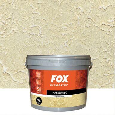 Efekt dekoracyjny PIASKOWIEC 16 kg l BiałyEfekt mineralny FOX