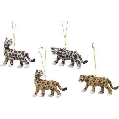 Zawieszka tygrys 9 cm 1 szt. mix