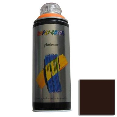 Spray PLATINUM Czekoladowy0,4 l  DUPLI- COLOR
