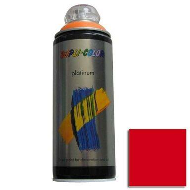 Lakier w sprayu PLATINUM 400 ml Czerwony Półmat DUPLI COLOR