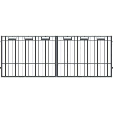 Brama dwuskrzydłowa ARGOS 2 400 x 150 cm POLARGOS