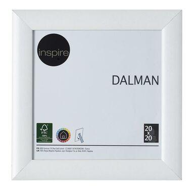 Ramka na zdjęcia DALMAN 20 x 20 cm biała drewniana INSPIRE