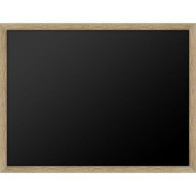 Tablica kredowa w dębowej ramie 40 x 30 cm