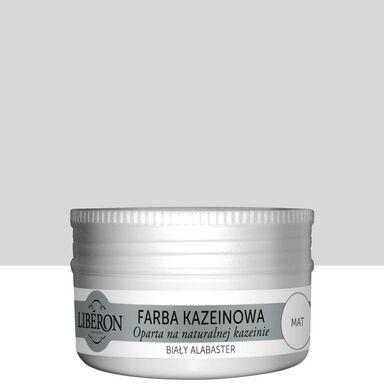 Farba do drewna KAZEINOWA 0.075 l Biały alabaster Mat LIBERON