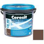 Fuga cementowa WODOODPORNA CE40 58 ciemny brąz  5 kg CERESIT
