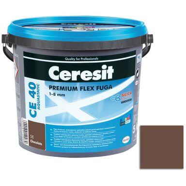 Fuga cementowa WODOODPORNA CE40  ciemny brąz  5 kg CERESIT