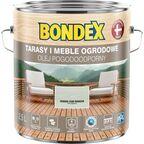 Olej do drewna POGODOODPORNY 2.5 l Srebrno-szary modrzew BONDEX
