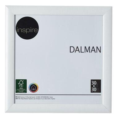 Ramka na zdjęcia DALMAN 30 x 30 cm biała drewniana INSPIRE