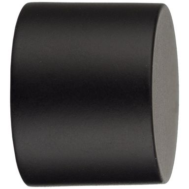 Końcówka do karnisza LUNA czarny mat 25 mm INSPIRE