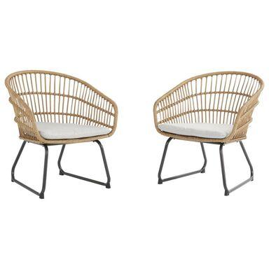 Krzesło ogrodowe Timea 2 szt. NATERIAL