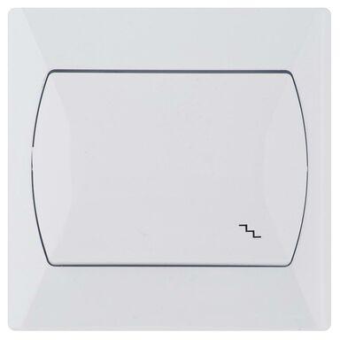 Włącznik schodowy AKCENT  Biały  OSPEL