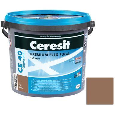 Fuga cementowa WODOODPORNA CE40 55 brązowy  5 kg CERESIT