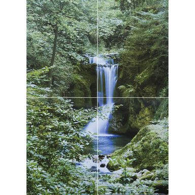 Fototapeta WATERFALL IN SPRING 254 x 183 cm