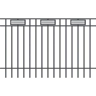 Ogrodzenie z prętami bezpieczeństwa ARGOS 2 200 x 120 cm POLARGOS