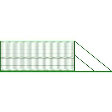 Brama przesuwna 400 x 170 cm prawa STARK POLBRAM