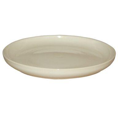 Podstawka ceramiczna 18 cm kremowa