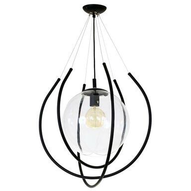 Lampa wisząca From czarna E27 Aldex Import-Export