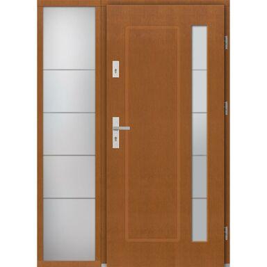 Drzwi wejściowe RAVENNA Z DOSTAWKA PRZESZKLONA 90Prawe ELPREMA