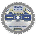 Tarcza do pilarki tarczowej 136MM/24T C/10  136 mm zęby: 24 szt. IRWIN WELDTEC
