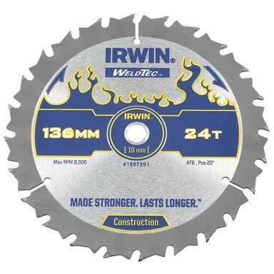 Tarcza do pilarki tarczowej 136MM/24T C/10 śr. 136 mm  24 z IRWIN WELDTEC