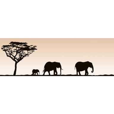 Dekor SAFARI ELEPHANTS 20 x 60 cm ARTENS