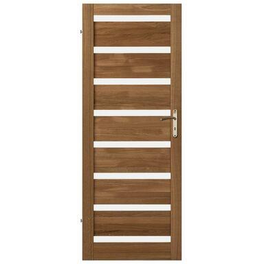 Skrzydło drzwiowe drewniane OKTAWA Dąb olejowany 70 Lewe KORNIK