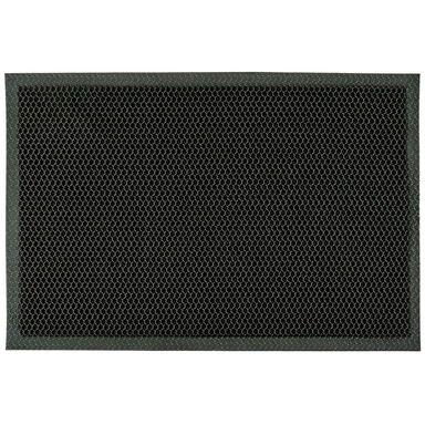 Wycieraczka wewnętrzna 3D 60 x 40 cm czarna