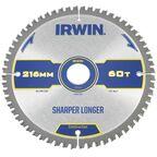 Tarcza do pilarki tarczowej 216MM/60T M/30 IRWIN CONSTRUCTION