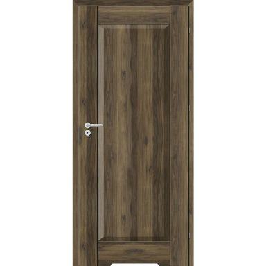 Skrzydło drzwiowe z podcięciem wentylacyjnym Kofano Dąb Catania ciemna 60 Prawe Classen