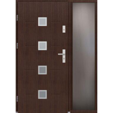 Drzwi wejściowe SORENTO Z DOSTAWKA PRZESZKLONA  92 ELPREMA