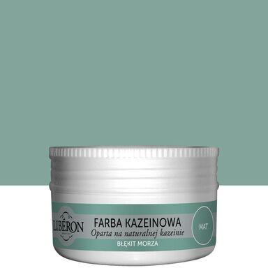 Farba do drewna KAZEINOWA 0.075 l Błękit morza Mat LIBERON