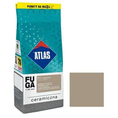 Fuga ceramiczna 211 cementowy 2 kg ATLAS