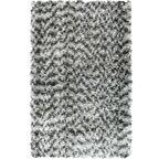 Dywan shaggy DUNE siwy 80 x 150 cm