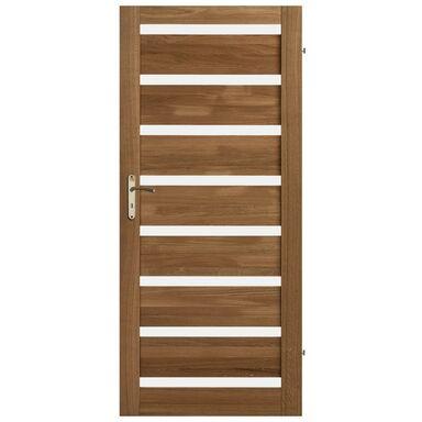 Skrzydło drzwiowe drewniane OKTAWA Dąb olejowany 90 Prawe KORNIK