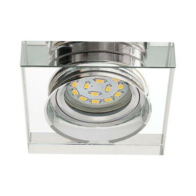 Oprawa stropowa LEONI B L-SR srebrne szkło KANLUX