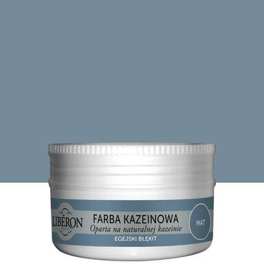 Farba do drewna KAZEINOWA 0.075 l Egiejski błękit Mat LIBERON