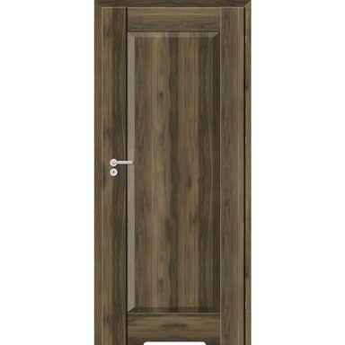 Skrzydło drzwiowe z podcięciem wentylacyjnym Kofano Dąb Catania ciemna 80 Prawe Classen